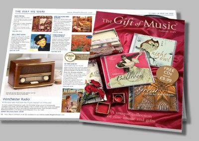 Gift of Music – Gift Catalogue