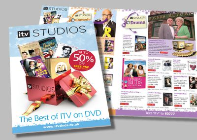 ITV Studios – Christmas DVD Mailing