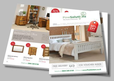Pine Solutions – Furniture Brochure