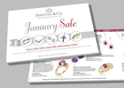 Shipton & Co – Jewellery Sale Brochure