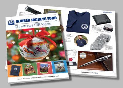 Injured Jockeys Fund – Gift Brochure
